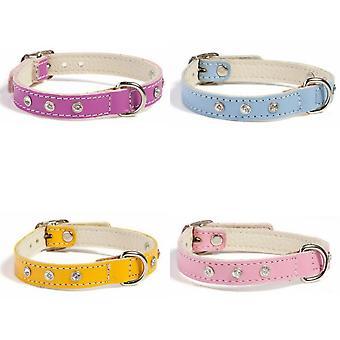 Animal Kingdom Doggy Things Fantasia Leather Dog Collar