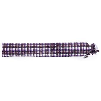 Warmies Botella de agua caliente larga - Tartán púrpura