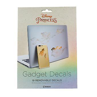 Disney Princess Gadget Decalcomanie - adesivi riutilizzabili e impermeabili