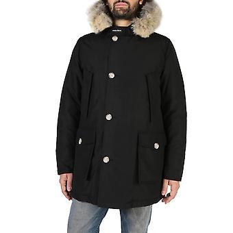 Woolrich Original Men Fall/Winter Jacket - Black Color 38133