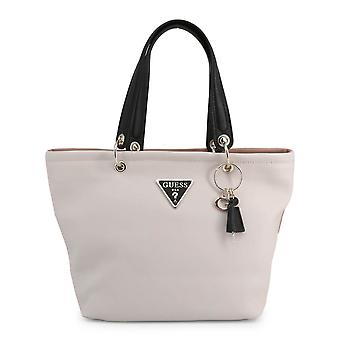 Guess Original Women Spring/Summer Shopping Bag - White Color 39420
