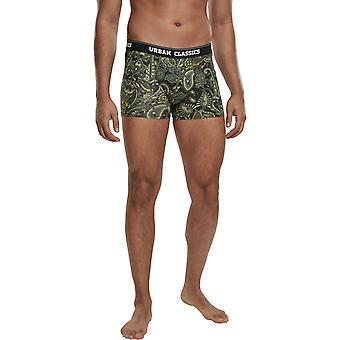 Urban Classics - Boxer Shorts 3-pack paisley multi