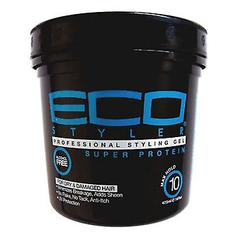 Eco Styler Professional Styling Gel Super Protein Max Hold 16oz