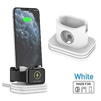3 in 1 phone holder watch charging holder earphone holder for iphone apple watch series apple airpods