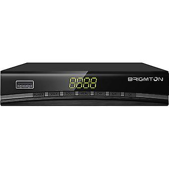 TDT Tuner BRIGMTON BTDT2-918 Full HD USB HDMI Black