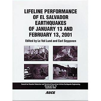 Lifeline Performance of El Salvador Earthquakes of January 13 and Feb
