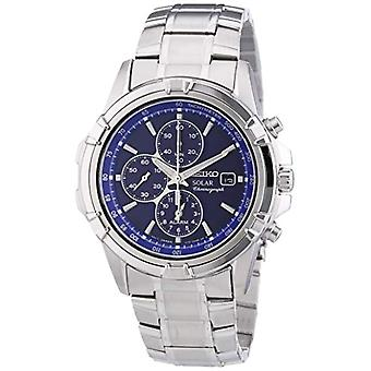 Seiko Solar Mens Watch with stainless steel band SSC141P1