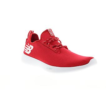 New Balance RCVRY  Mens Red Mesh Lace Up Athletic Running Shoes