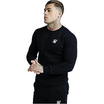 Sik Silk Sweatshirt Black 73