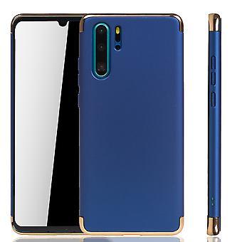 Huawei P30 Pro New Editition Handy Hülle Schutz Case Bumper Hard Cover Blau