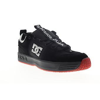 DC Lynx OG  Mens Black Suede Skate Sneakers Shoes