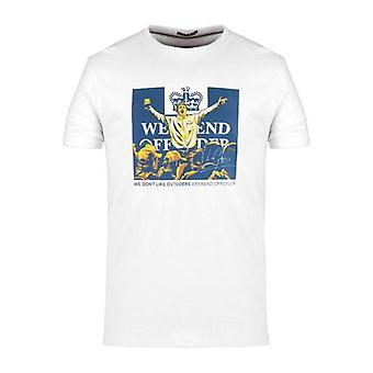Weekend Offender Leo Gregory T-Shirt - White