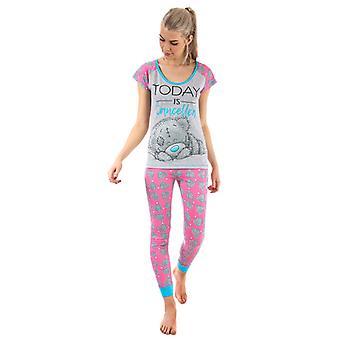 Kvinner&s Meg Til Deg Tatty Teddy Pyjamas i Rosa