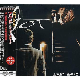 A.C.T. - Last Epic [CD] USA import