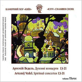 Kyiv Kammerkor - Vedel. Spirituel Choir Koncerter No.13-21 [CD] USA import