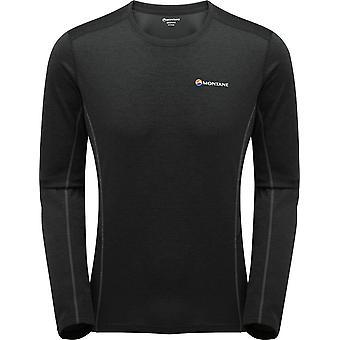 Montane Men's Dart Long Sleeve T-shirt Zwart