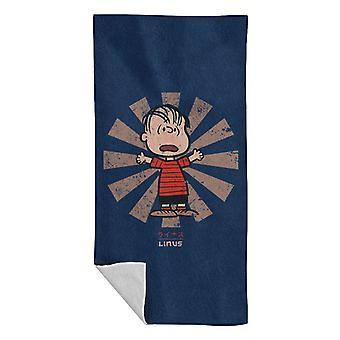 Linus Van Pelt Retro Giapponese Arachidi Asciugamano da spiaggia