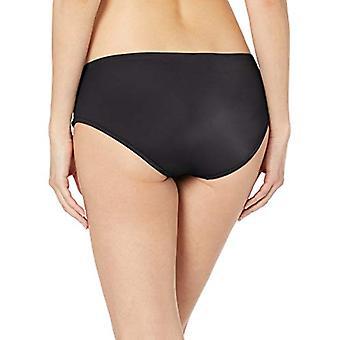 أساسيات المرأة & apos;ق هيبستر بيكيني ملابس السباحة القاع, أسود, M