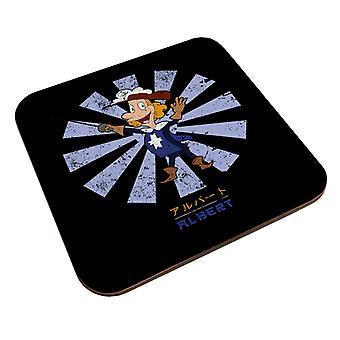 Albert Viides Muskettisoturi Retro Japanilainen Coaster