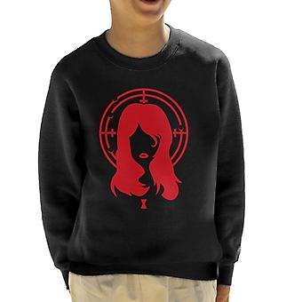 Black Widow Aim Kid's Sweatshirt