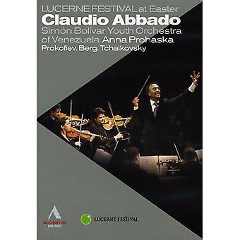 Claudio Abbado dirigeert het Si [DVD] USA importeren