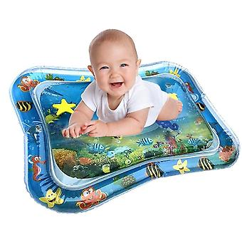 Inflatable Baby Kids Water Play Mat - Infant Tummy Time Fun Activity