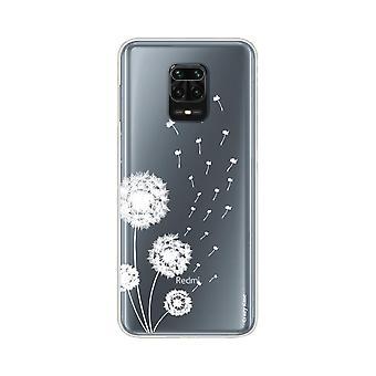هال ل Xiaomi Redmi ملاحظة 9 برو Supple زهرة Pissenlit