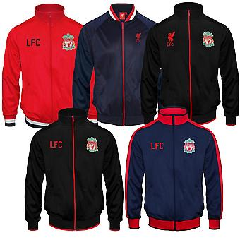 Liverpool FC officiella Fotboll Gift Boys Retro Track Top Jacket