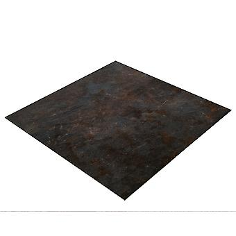 BRESSER Flatlay Achtergrond voor het leggen van foto's 60x60cm Donkere natuursteen