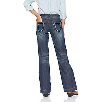 Stetson Women's Ladies Jean 214 Trouser Fit, Blue, 2 R