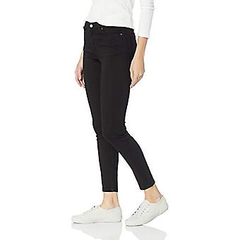 Essentials Women's Skinny Jean, Black, 12 Short