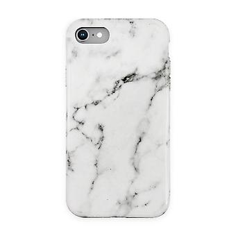 Eco Friendly Printed White Marble iPhone SE / 8 / 7 / 6 Case