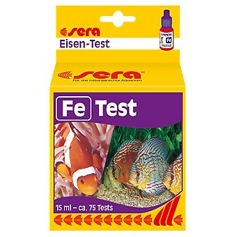 Sera Sera Iron-test (Fe) (fisk, vedlikehold, pH-& andre substans test strips)