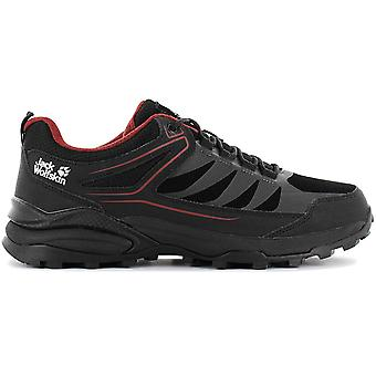 Jack Wolfskin Cruiser Low - Men's Hiking Shoes Black 4043271-6047 Sneakers Sports Shoes