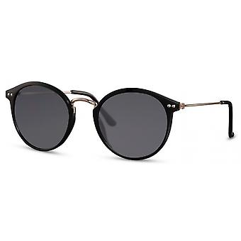 Sunglasses unisex oval cat. 3 black/black