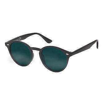 Gafas de sol Unisex Wanderer negro/verde (20-156)