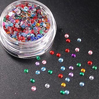Mischen Sie bunte Herz optional Monochrome Lidschatten shining Glitter Pulver