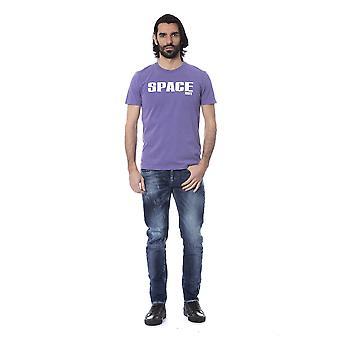 Frankie Morello Viola T-Shirt FR678828-M