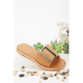 Sandales à glissière Detail Buckle