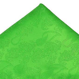 Ties Planet Zöld Paisley mintás Pocket Square zsebkendő