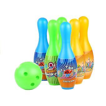 Instellen op Bowling 6 Bowling Pins + Bowling Ball Sport Game