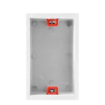 عالية الكثافة مربع التثبيت الداخلي لمفتاح الحائط القياسية والمأخذ