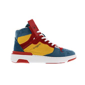 Givenchy Wing Sneaker High Blue BH002JH0R5969 shoe