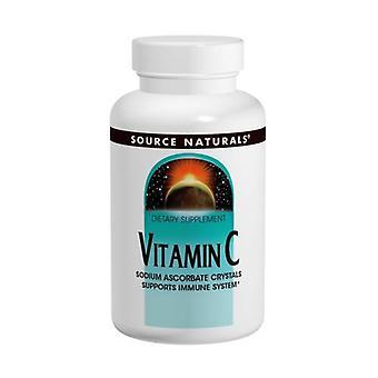 Quelle Naturals Vitamin C Natriumascorbat, 16 Oz