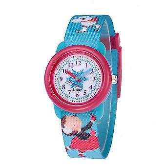 Vedenpitävä Valovoimainen LED Digitaalinen Kosketus Lasten kello - sininen