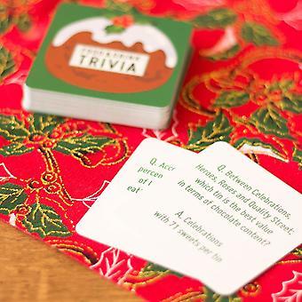 Food & Drink Christmas Trivia Card Game
