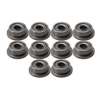 10 x Rulment cu flanșă din oțel în miniatură F681XZZ 1.5x4x2mm