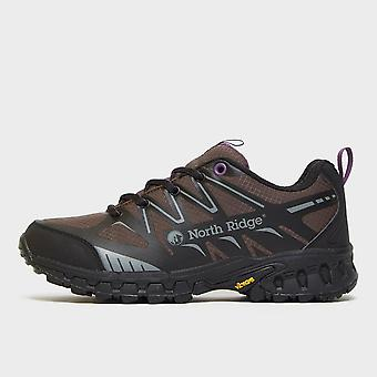 New North Ridge Women's Blazer Trail Running Shoes Black/Purple
