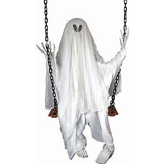Forum-uutuudet Halloween Naamiaispukutarvikkeet - Heiluva kuollut roikkuva koristelu - Ghost (60 tuumaa)