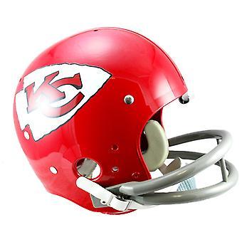 Riddell TK Replica Football Helm - Kansas City Chiefs 63-73